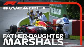 We Are F1: Father And Daughter Marshals In Canada