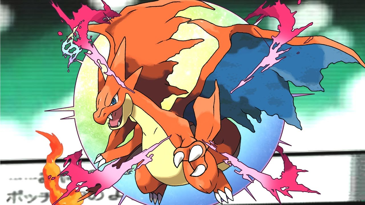 Pokemon x y charizard 39 s mega evolution speed art youtube - Pokemon mega evolution y ...