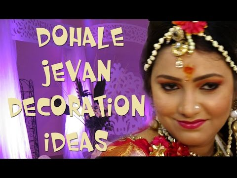 Dohale jevan decoration ideas youtube Home decoration tips in marathi