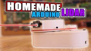 Homemade LIDAR sensor with Arduino & Processing