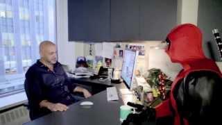 Deadpool Visits Marvel HQ Pt. 4