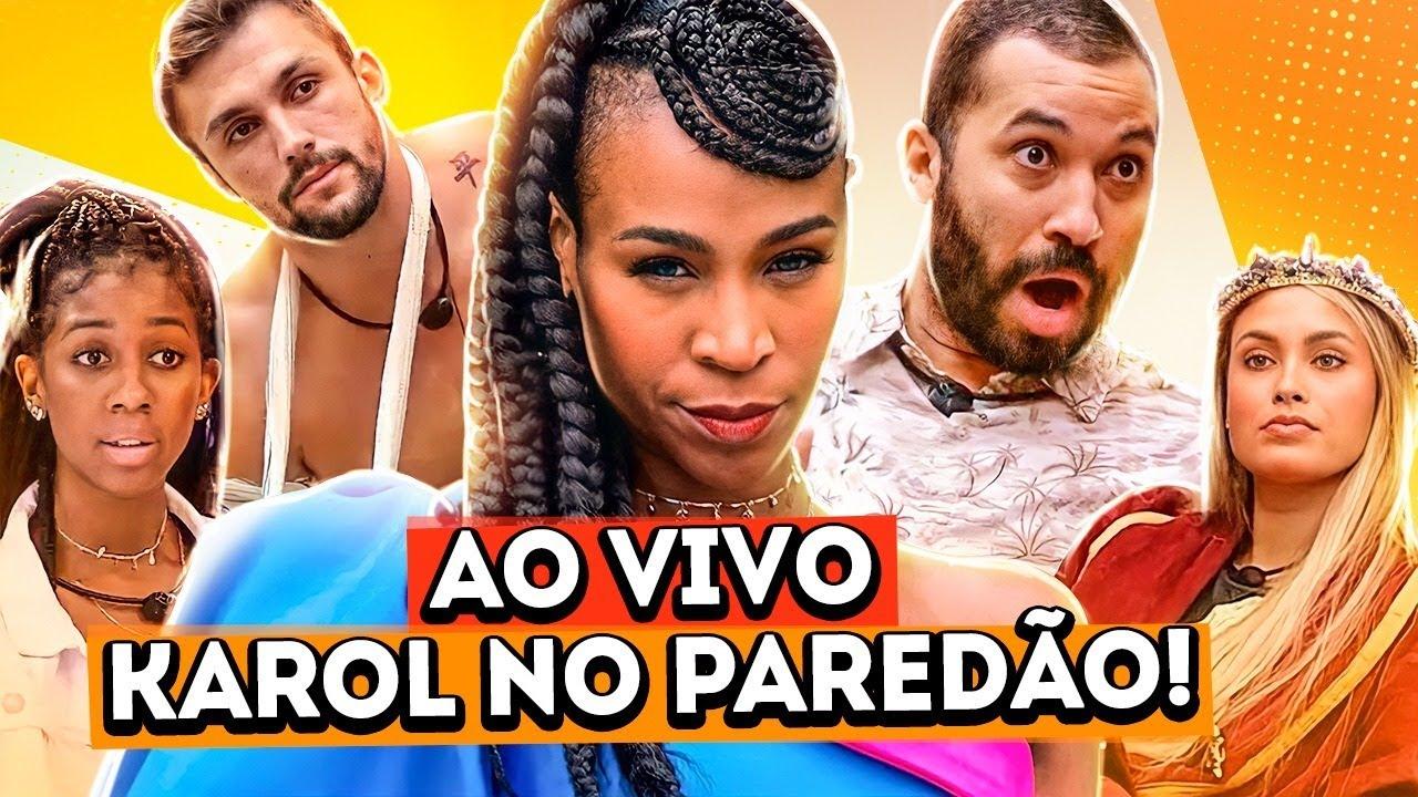 AO VIVO - FINALMENTE KAROL CONKÁ NO PAREDÃO | Diva Depressão