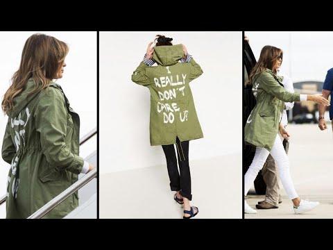 Melania Trump Wears 'I Really Don't Care' Jacket Before Texas Visit