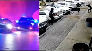 4 JackBoys With Machine Gun Robbed Man For His Hennessy & 3 Dollars Caught On Camera..DA PRODUCT DVD