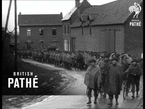 British Expeditionary Force In France 1940 British Regiment Pass (1940)
