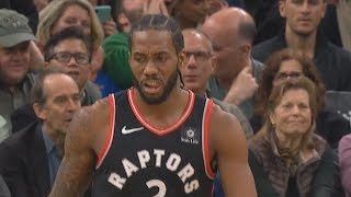 Kawhi Leonard Shows Rare Emotion After Showing Kyrie Irving He Can