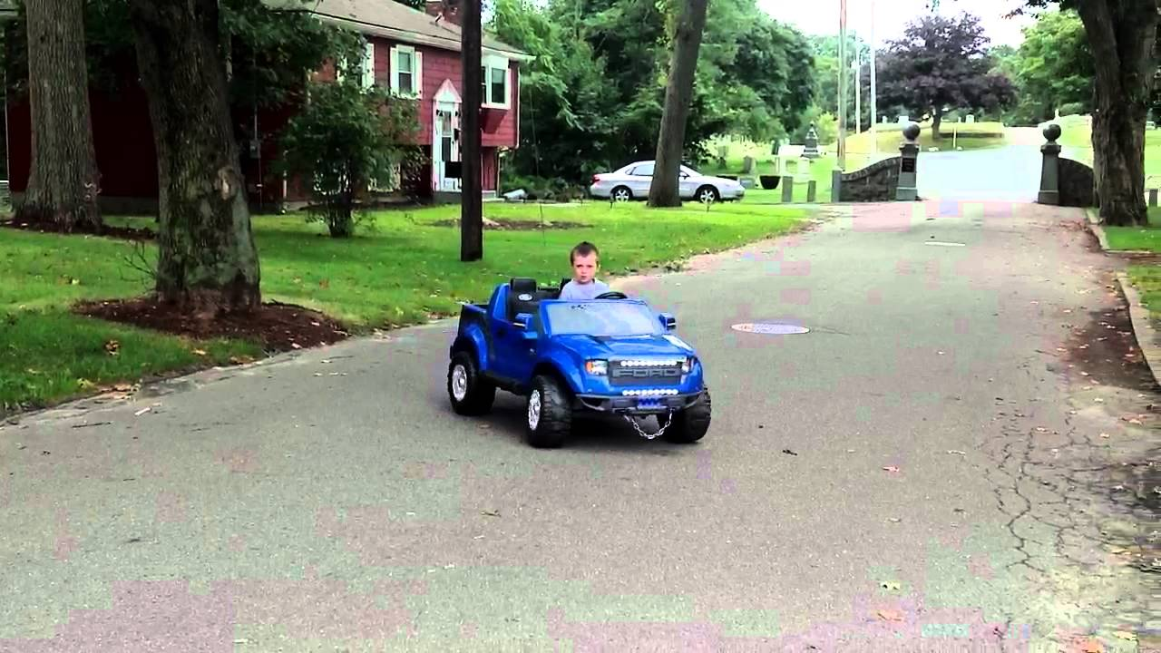modified power wheel raptor f150 with 4 1 2 year old cam youtube. Black Bedroom Furniture Sets. Home Design Ideas