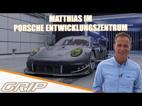 Matthias im Porsche