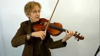 Violin Class 65A: Bach Double Concerto, 2nd violin, Bars 1-53