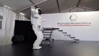 Honda's Asimo 2017 demo at Barber Motorsports Park