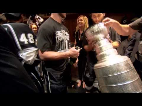 Los Angeles Kings – Extended Locker Room Stanley Cup Celebration
