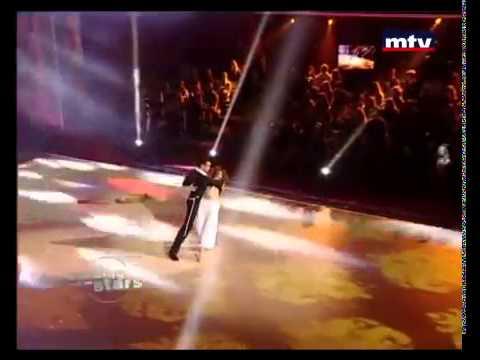 DWTSME - Nada Abou Farhat dancing Samba to