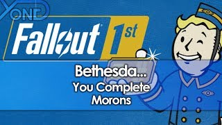 Bethesda Charges $100 For Fallout 76 Subscription That Paywalls Gameplay Features