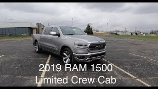 2019 RAM 1500 Limited Crew Cab 4X4|In Depth Review|Walk Around Video|Test Drive