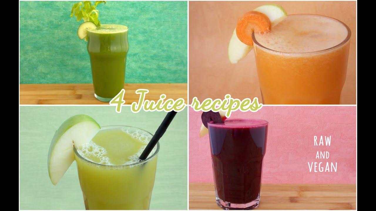 Favoloso I miei 4 centrifugati preferiti! (4 juice recipes) - YouTube PW18