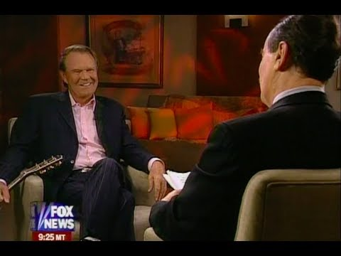 Glen Campbell Talks With Cal Thomas