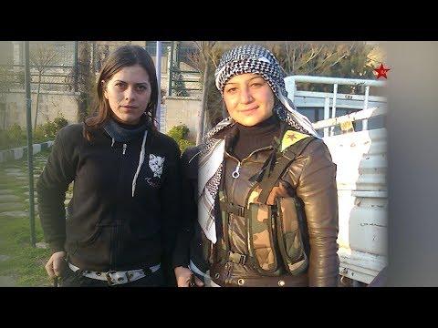 Ji Bo Bîranîna Pêşengên YPJ şehîd Silava û şehîd Berîvan Efrîn