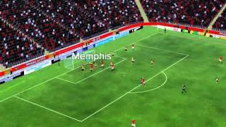 Man Utd mot Arsenal - 39 minutter