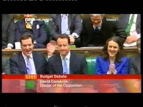 Sir Alan Haselhurst barks - Budget debate 2005
