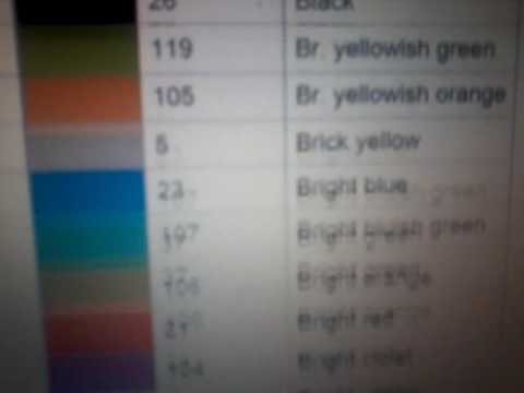 Roblox Color Codes Youtube