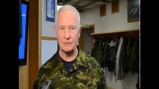Governor General David Johnston visits Cold Lake