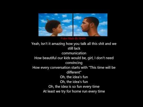 Drake - Connect (Lyrics On Screen) - New 2013 -