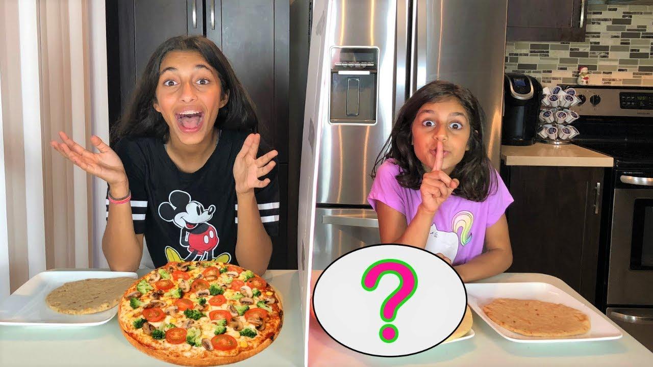 Twin Telepathy Pizza Challenge Kids Fun Youtube