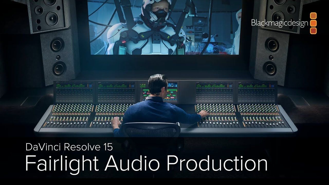 DaVinci Resolve 15 - Fairlight Audio Production Part 2에 대한 이미지 검색결과
