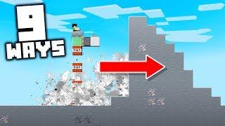 9 Creative Ways To Use Redstone Vehicles in Minecraft!