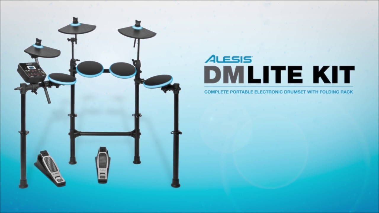 alesis dm lite kit youtube. Black Bedroom Furniture Sets. Home Design Ideas