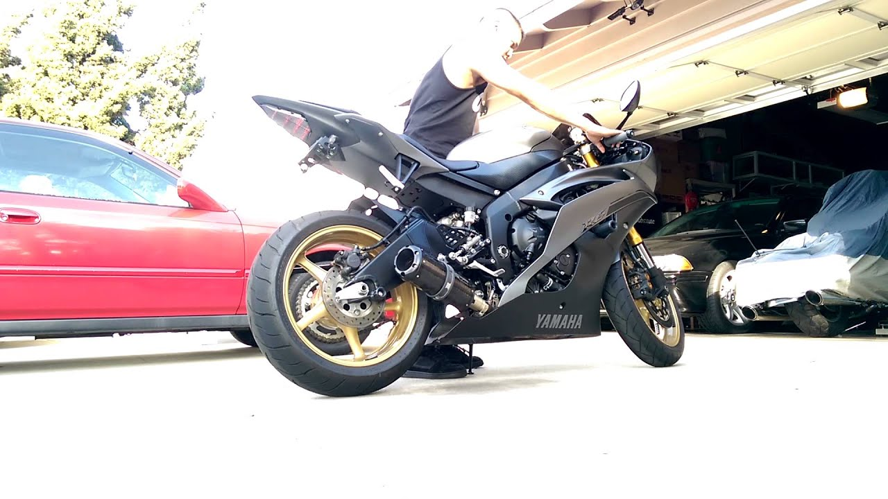 2014 Yamaha R6 Two Brothers Exhaust