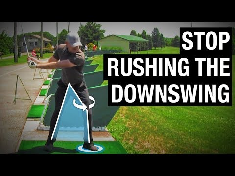 How To Stop Rushing The Downswing - Performance Golf Zone