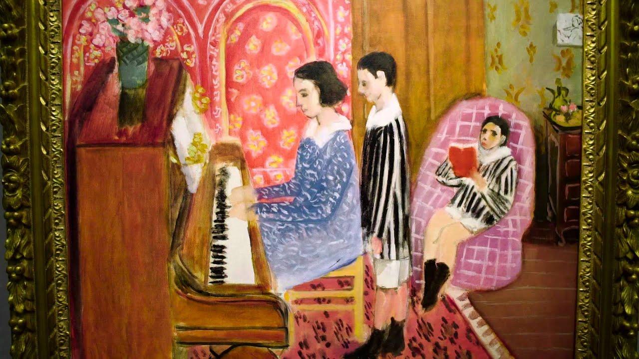 Bien-aimé Henri Matisse's 'La Leçon de piano' - Teaser - YouTube VZ41