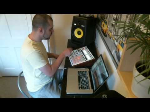 Native Instruments Maschine Sampling Flipping - Al Green Lets Stay Together (improvised)