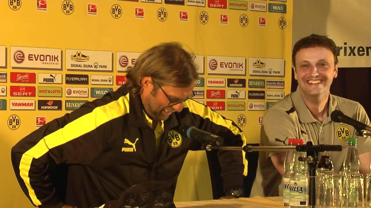 BVB Pressekonferenz aus dem Trainingslager 6. Juli 2012 mit Klopp und Watzke