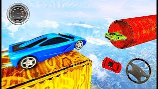 Mega Ramp Impossible Tracks Car Stunts - Car Stunt Driver Challenge Game - Android GamePlay