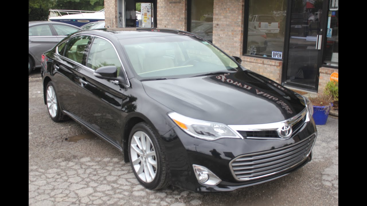 used 2014 toyota avalon limited for sale georgetown auto. Black Bedroom Furniture Sets. Home Design Ideas