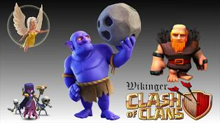 Clash of Clans ⭐️⭐️⭐️ - Wikinger