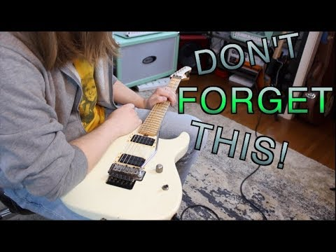 Things Beginners Forget To Do!