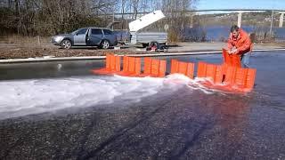 NOAQ Box Wall flash flood test