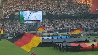 Germany vs San Marino National Anthems