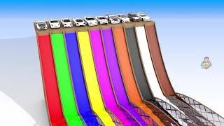 ألوان السيارات للأطفال