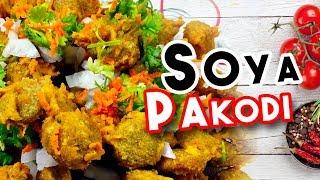 Soya Chunks Pakoda | Homemade Soya Chaap | Delicious Food | Pakora