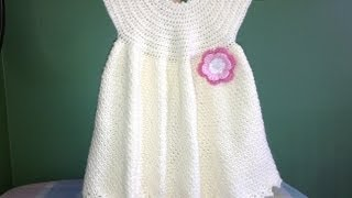 Repeat youtube video How to Crochet a Baby Dress - Easy