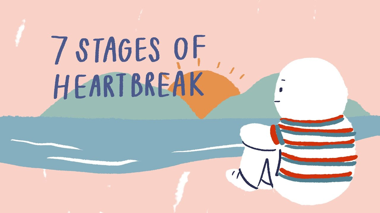 Grief stages up break 7 the of The 5