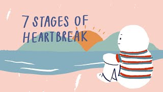 7 Stages After A Break Up