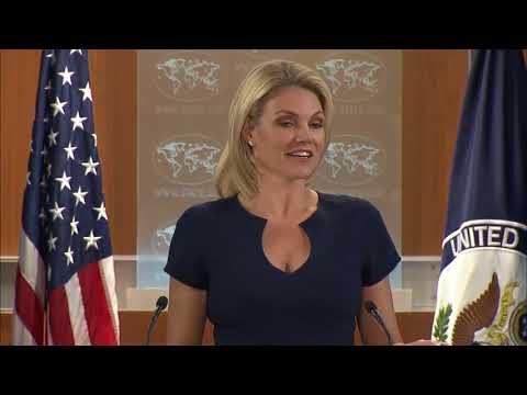 WATCH: Heather Nauert Department Press Briefing on President Donald Trump News - October 10, 2017