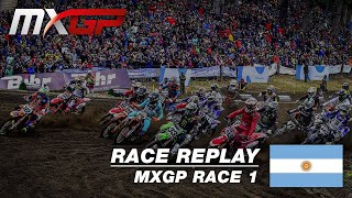 MXGP of Patagonia - Argentina  2019 - Replay MXGP Race 1 - Motocross