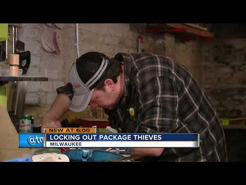 Milwaukee man comes up with a way to lock thieves out