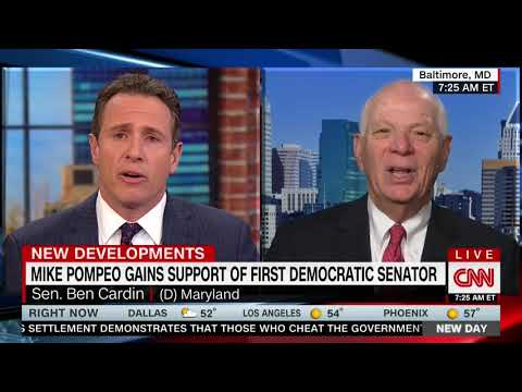 BEN CARDIN FULL INTERVIEW WITH CHRIS CUOMO - NEW DAY (4/20/2018)
